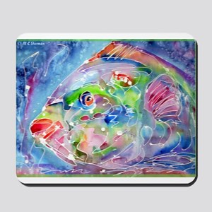 Fish, Colorful, Mousepad