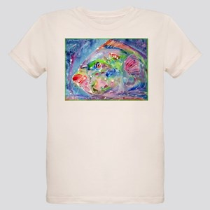 Fish, Colorful, Organic Kids T-Shirt