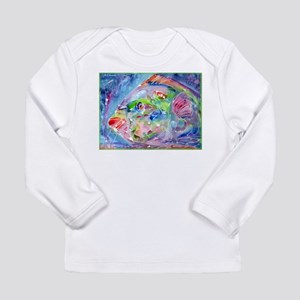 Fish, Colorful, Long Sleeve Infant T-Shirt