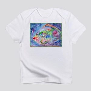 Fish, Colorful, Infant T-Shirt