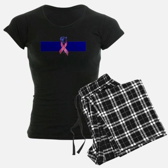 Blue Line Rose Pajamas
