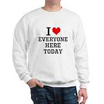 I Love Sweatshirt
