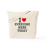 I Love Tote Bag
