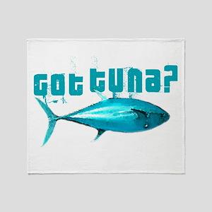 GotTuna? Throw Blanket