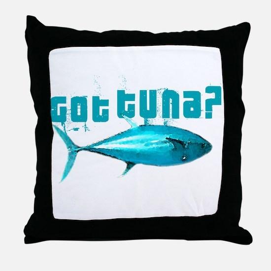 GotTuna? Throw Pillow
