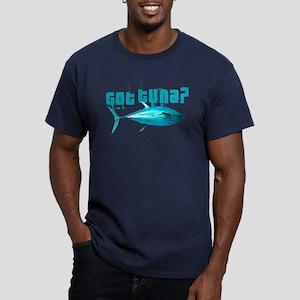 GotTuna? Men's Fitted T-Shirt (dark)