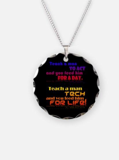 Teach Tech For Life! Necklace