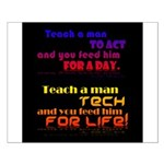 Teach Tech For Life! Small Poster
