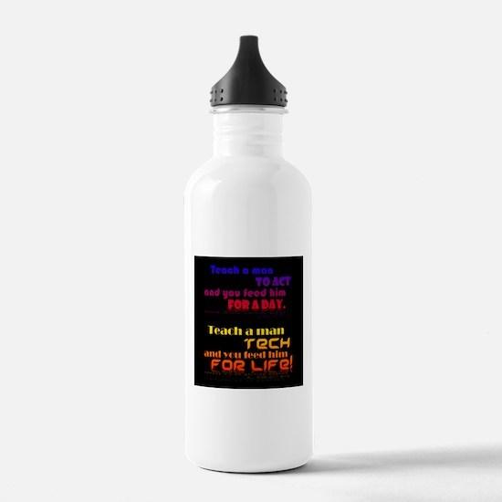 Teach Tech For Life! Water Bottle