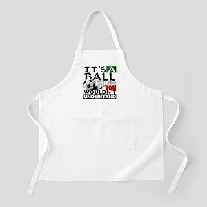 It's a ball thing- Soccer BBQ Apron