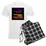 Teach Tech For Life! Men's Light Pajamas