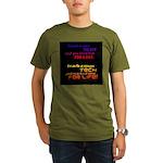 Teach Tech For Life! Organic Men's T-Shirt (dark)