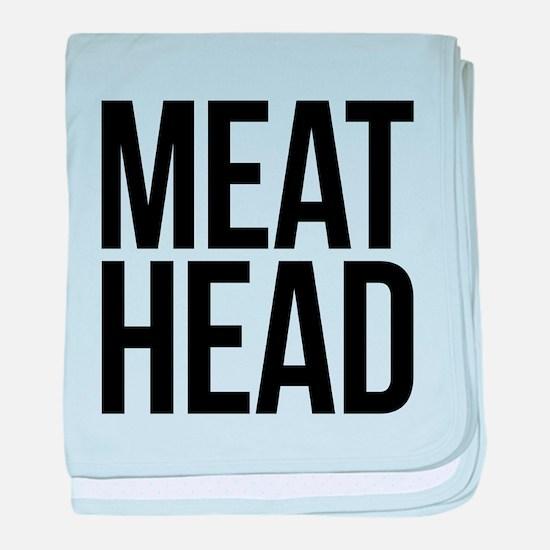 Meat Head baby blanket