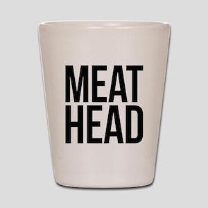 Meat Head Shot Glass
