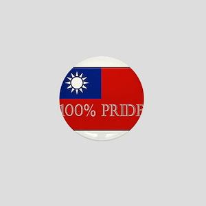 100% PRIDE Mini Button