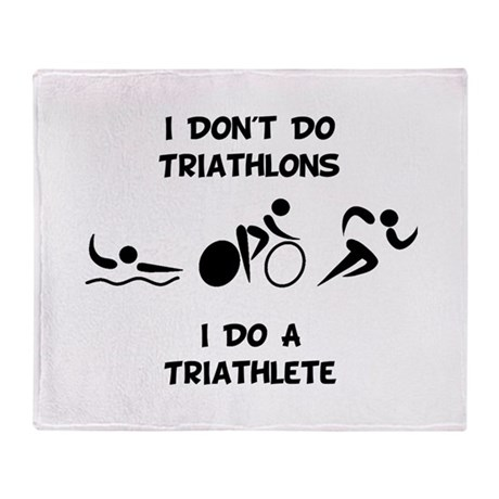 Do Triathlete Throw Blanket