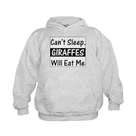Giraffes Will Eat Me Kids Hoodie