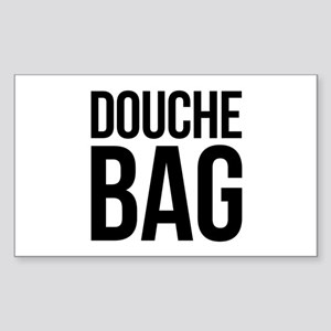 Douche Bag Sticker (Rectangle)