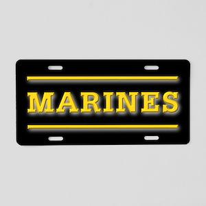 United States Marine Corps Aluminum License Plate