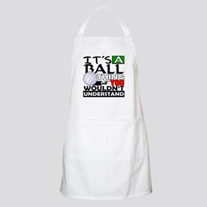 It's a ball thing- Volleyball BBQ Apron