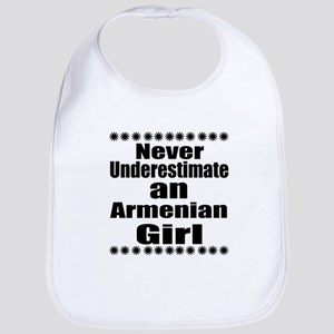 Never Underestimate An Armenian Gi Cotton Baby Bib