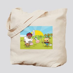Farmer Brown Tote Bag