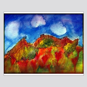 Autumn Mountains Small Poster