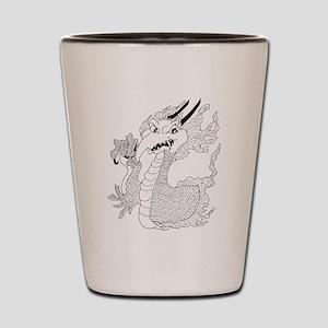 Dragon Tattoo Shot Glass