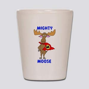 Mighty Moose Shot Glass