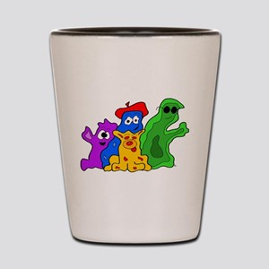 Germ Family Photo Shot Glass