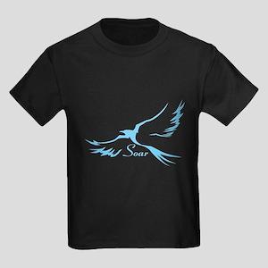 Soar Blue Kids Dark T-Shirt
