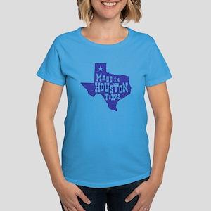 Made In Houston Texas Women's Dark T-Shirt
