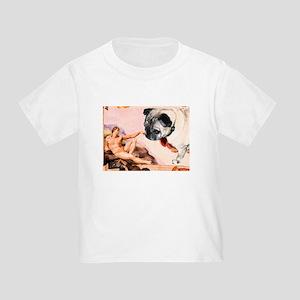Creation of Pug! Toddler T-Shirt