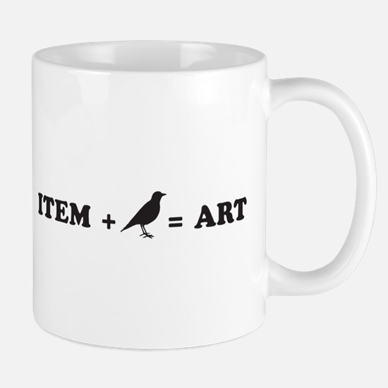 item + bird = art Mug