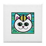 The Catphi Symbol Tile Coaster