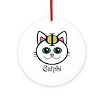 The Catphi Symbol Ornament (Round)
