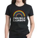 Double Rainbow Women's Dark T-Shirt