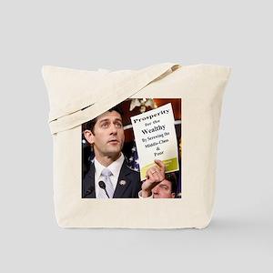Real Paul Ryan Plan Tote Bag