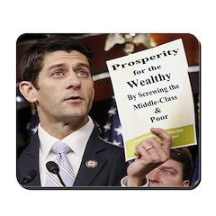 Real Paul Ryan Plan Mousepad