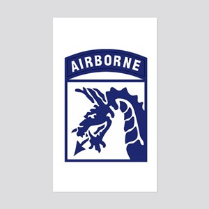Airborne Sticker (Rectangle)
