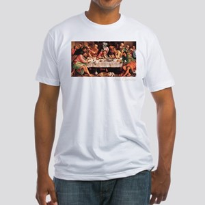 Pug Life Last Supper Fitted T-Shirt
