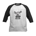 Kestrel (no text) Kids Baseball Jersey
