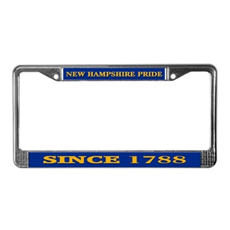 New Hampshire Pride License Plate Frame