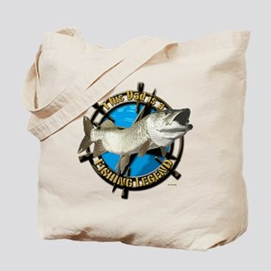 Dad the fishing legend Tote Bag