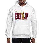 Womens Golf Hooded Sweatshirt