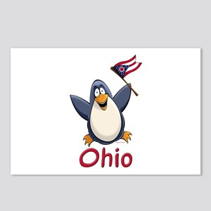 Ohio Penguin Postcards (Package of 8)
