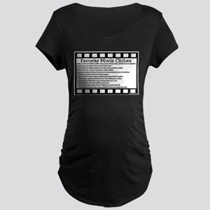 Cliches Maternity Dark T-Shirt