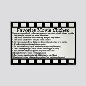 Cliches Rectangle Magnet (10 pack)