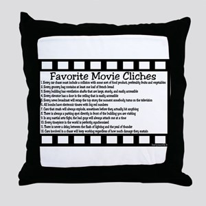 Cliches Throw Pillow