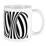 Zebra Swirl Art Mug